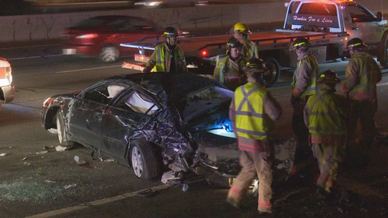 2 dead in separate overnight highway collisions