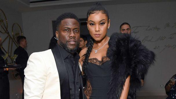 PHOTO: Kevin Hart and Eniko Parrish attend Sean Combs 50th Birthday Bash, Dec. 14, 2019, in Los Angeles. (Kevin Mazur/Getty Images, FILE)