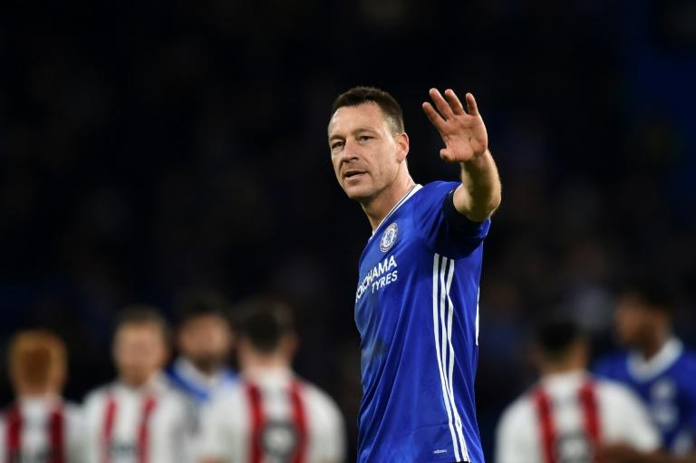 Chelsea's John Terry, pictured in January 2017, has spent his entire professional career at Stamford Bridge, making over 700 appearances for the west London side