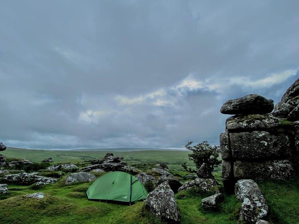 Instagram pictures aren't enough to go on when booking a trip (Dartmoor camping)