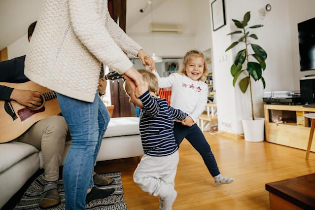 Dancing is a great way to bond with your children. (Getty Images)
