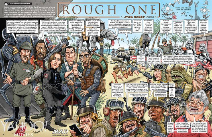 May the farce be with us mad magazine mocks 39 rogue one for Farcical parody
