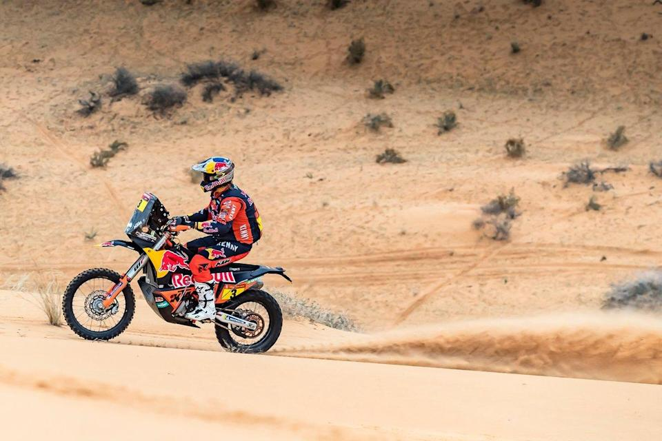 """#3 Red Bull KTM Factory Racing: Toby Price<span class=""""copyright"""">KTM Images</span>"""