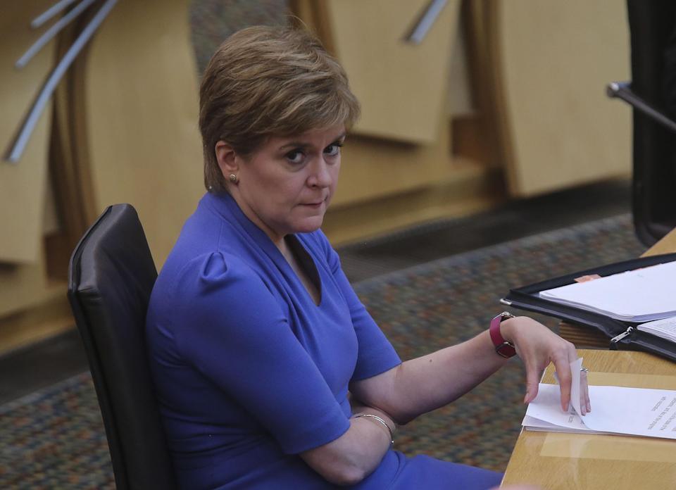 Reports had previously suggested Number 10 wanted to sideline Scottish First Minister Nicola Sturgeon (Fraser Bremner/Scottish Daily Mail/PA)