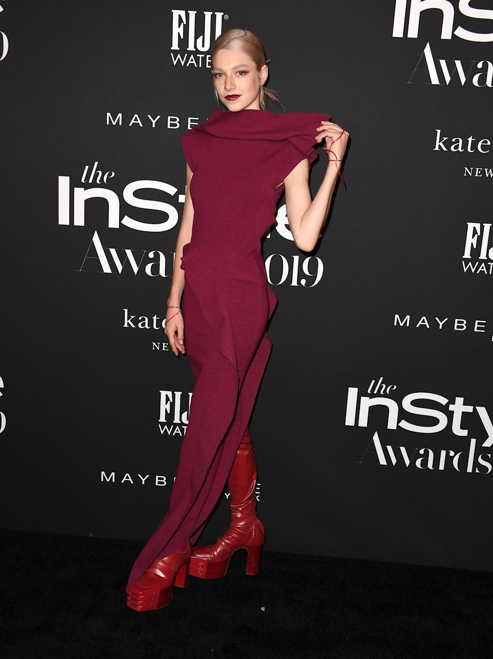 in Rick Owens at the InStyle Awards, Los Angeles, 2019