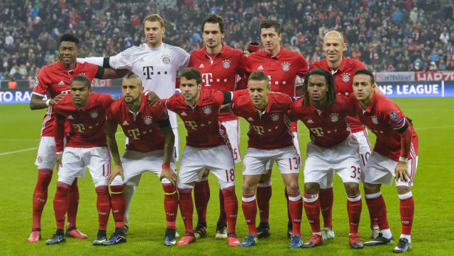 <p><strong>Their collective strength</strong></p> <br><p>With a maestro like Carlo Ancelotti on the bench, Bayern has a coach that matches the club's philosophy. The institution lies on great values and the squad is being built for a long time now, only getting smart additions to the team and always thinking about the club as a whole. </p> <br><p>And it shows on the pitch: Bayern are very strong as a team, they pull very solid performances, always attacking and defending as one. Not only are they the only team in the Champions League this season to average 60%+ possession (64%), they're the very best defence in European top 5 leagues (13 goals conceded only in 24 league games), the 3rd biggest goal difference (+41, only behind Monaco and Barcelona). </p> <br><p>Although ripped off by Barcelona a couple of years ago, Bayern's defence remains one of the strongest in world football right now. </p>