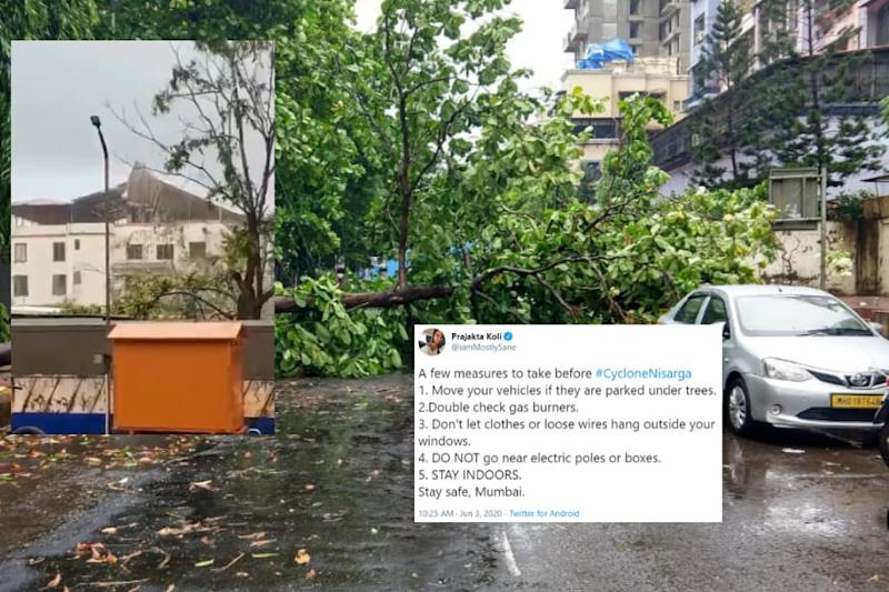 'Please Stay Indoors': Mumbaikars Brace Themselves as Cyclone Nisarga Makes Landfall