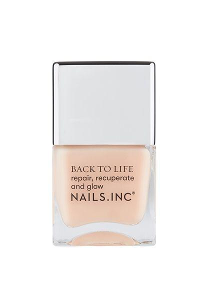 """<p>nailsinc.com</p><p><strong>$15.00</strong></p><p><a href=""""https://go.redirectingat.com?id=74968X1596630&url=https%3A%2F%2Fwww.nailsinc.com%2Fen%2FBack-To-Life-Strengthening-Nail-Treatment%2Fm-2356.aspx&sref=https%3A%2F%2Fwww.oprahdaily.com%2Fbeauty%2Fg36209337%2Fbest-nail-strengtheners%2F"""" rel=""""nofollow noopener"""" target=""""_blank"""" data-ylk=""""slk:Shop Now"""" class=""""link rapid-noclick-resp"""">Shop Now</a></p><p>Another Salandra favorite, this product is packed with nourishing oils to revive weak nails (particularly those that need rehabbing from gel manicures). The brand promises that after just 3 weeks of use, you'll have stronger, healthier nails. """"I personally have their entire vegan line and live for this product,"""" Salandra says.</p>"""