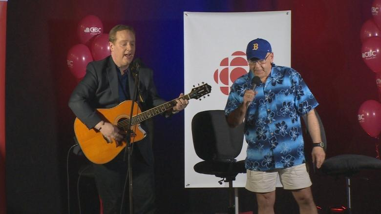 Hundreds attend goodbye party for Compass team Bruce Rainnie and Kevin (Boomer) Gallant