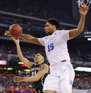 Will concerns about Jahlil Okafor's defensive work cost him the top spot? (AP/David J. Phillip)