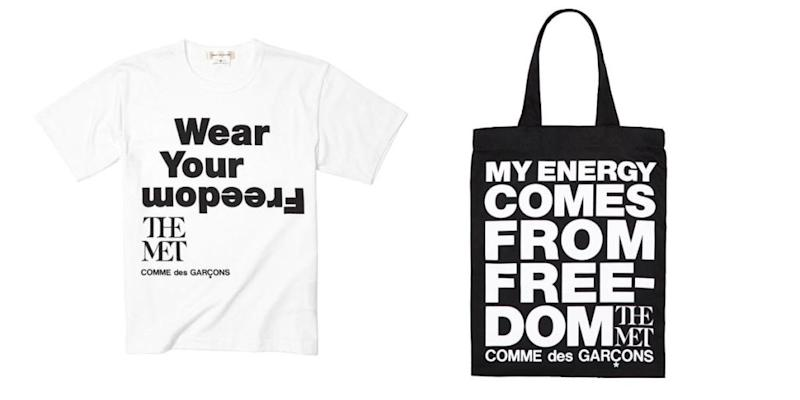 040a6b22fa5074 Comme des Garçons Debuts Collection for The Met Store