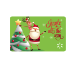 """<p>Walmart</p><p><a href=""""https://giftcards.walmart.com/ip/Jingle-All-the-Way-Walmart-eGift-Card/610276769"""" rel=""""nofollow noopener"""" target=""""_blank"""" data-ylk=""""slk:Shop Now"""" class=""""link rapid-noclick-resp"""">Shop Now</a></p><p><strong>$5–$500</strong></p><p>Or, if Walmart is their preferred retailer, this gift card will not disappoint. (We mean, they can basically buy <em>anything </em>they've been eyeing!) </p>"""