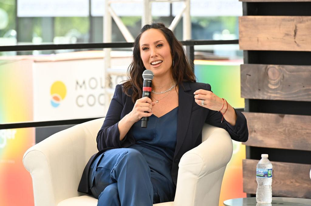 Cheryl Burke speaks at a wellness event last month. (Duane Prokop/Getty Images for the Wellness Experience by Kroger)