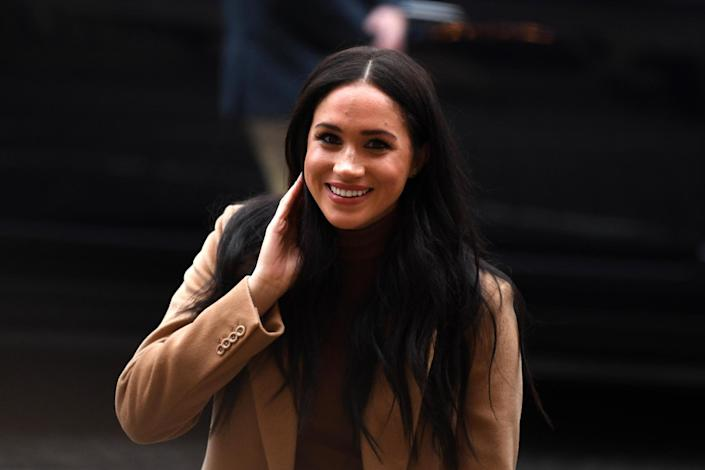 The Duchess of Sussex arrives at Canada House on Tuesday last week: Getty Images