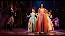 <p>are another pair of <em>Hamilton </em>actors nominated in the same category! They're up for outstanding supporting actress in a limited series or a movie. </p>