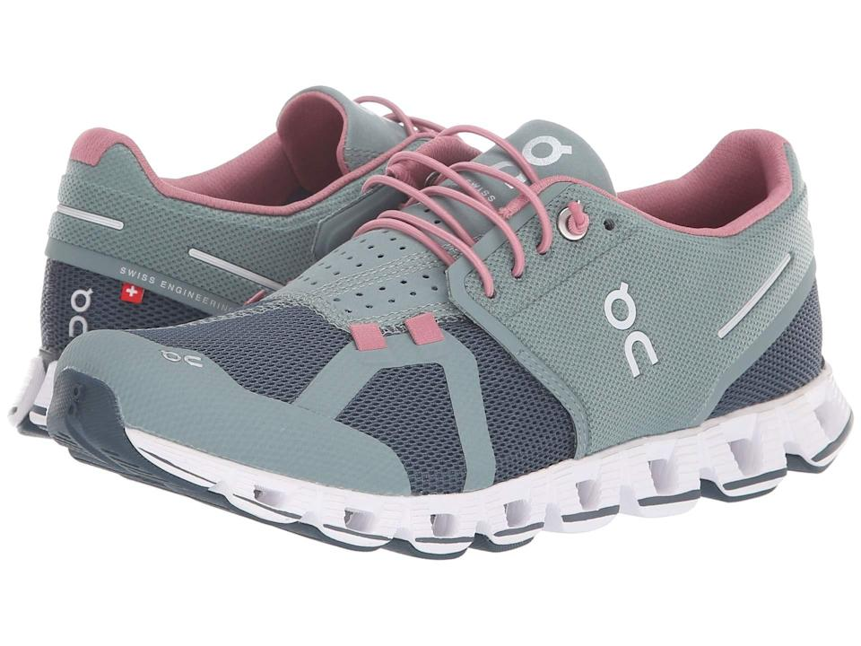 """<p>Listen up runners and walkers, because these top-rated sneakers are made for the most comfort during those long journeys. """"They are very light with great support,"""" says one reviewer. Another adds, """"They are comfortable and durable, and they look great with jeans or work out clothes!""""<br><strong><a rel=""""nofollow noopener"""" href=""""https://fave.co/2Atx4tr"""" target=""""_blank"""" data-ylk=""""slk:Shop It"""" class=""""link rapid-noclick-resp"""">Shop It</a>:</strong> $130, <a rel=""""nofollow noopener"""" href=""""https://fave.co/2Atx4tr"""" target=""""_blank"""" data-ylk=""""slk:zappos.com"""" class=""""link rapid-noclick-resp"""">zappos.com</a> </p>"""