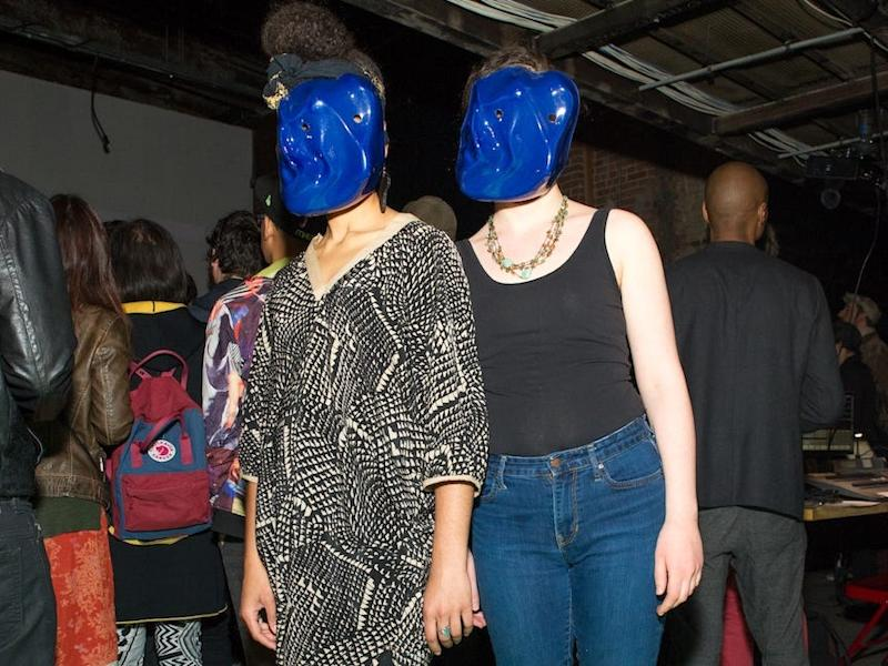 dazzle masks used to thwart facial recognition