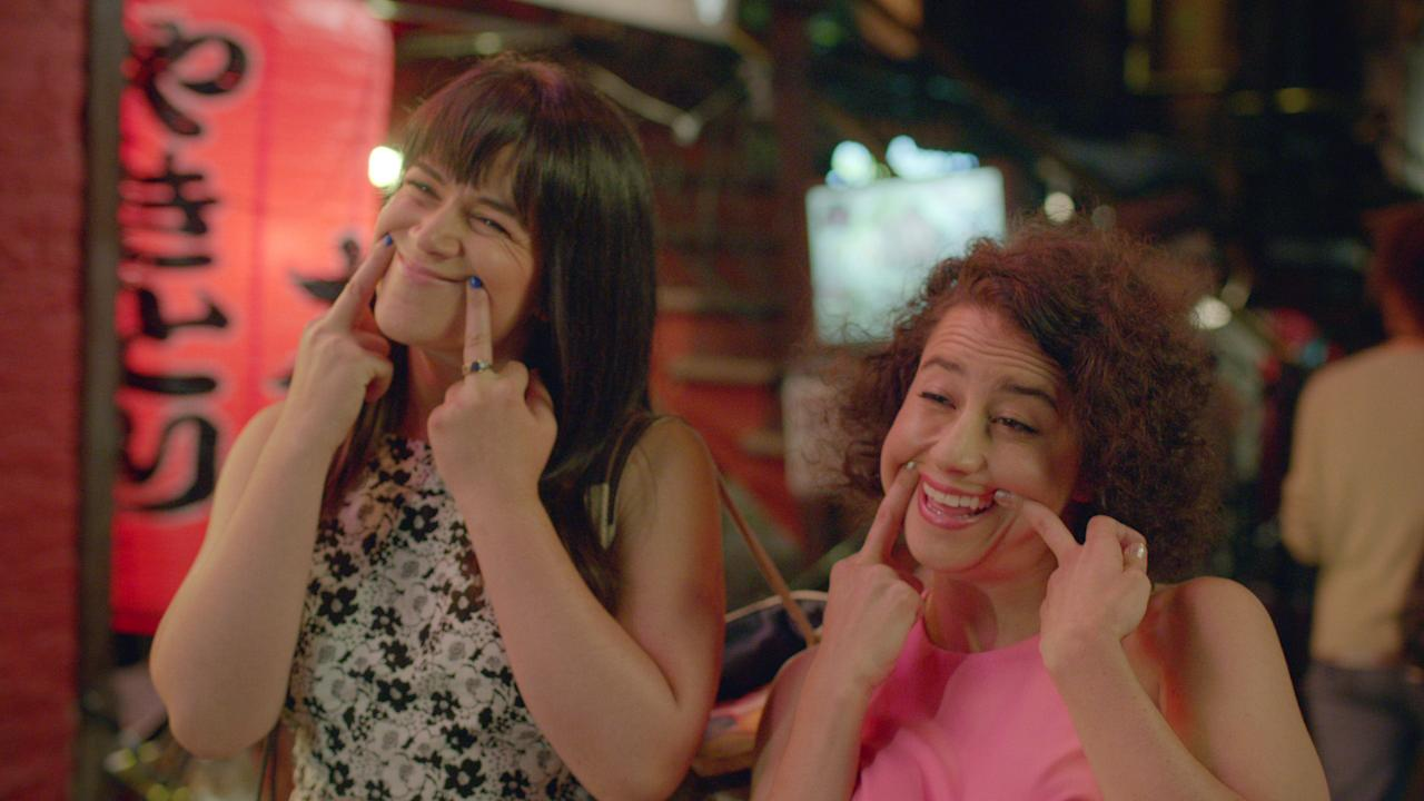 "<p><p>This show also gets real, but in this case it's a hilarious depiction of what it's like to have a best friend in your 20s. Abby and Ilana are uncomfortably close in a way that feels familiar and probably a bit nostalgic (depending on your age). If you have limited time on your hands and aren't yet well-versed in the world of <em>Broad City</em>, we suggest you watch the ""The Last Supper"" and ""Wisdom Teeth,"" two of the funniest pieces of television ever created.</p> <p>You can watch <em>Broad City </em>on<em> </em><a rel=""nofollow"" href=""https://www.amazon.com/Broad-City-Season-2/dp/B00S8PH5RK"">Amazon</a> or Hulu.</p>                                                                                                                                                                   <h4>Comedy Central</h4>"