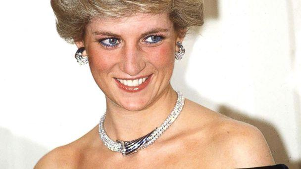 PHOTO: Princess Diana poses in Bonn, Germany, wearing sapphire and diamond jewels which were a gift from the Sultan of Oman (the Tiara is her own) with a dress designed by Victor Edelstein. (Tim Graham/Getty Images)