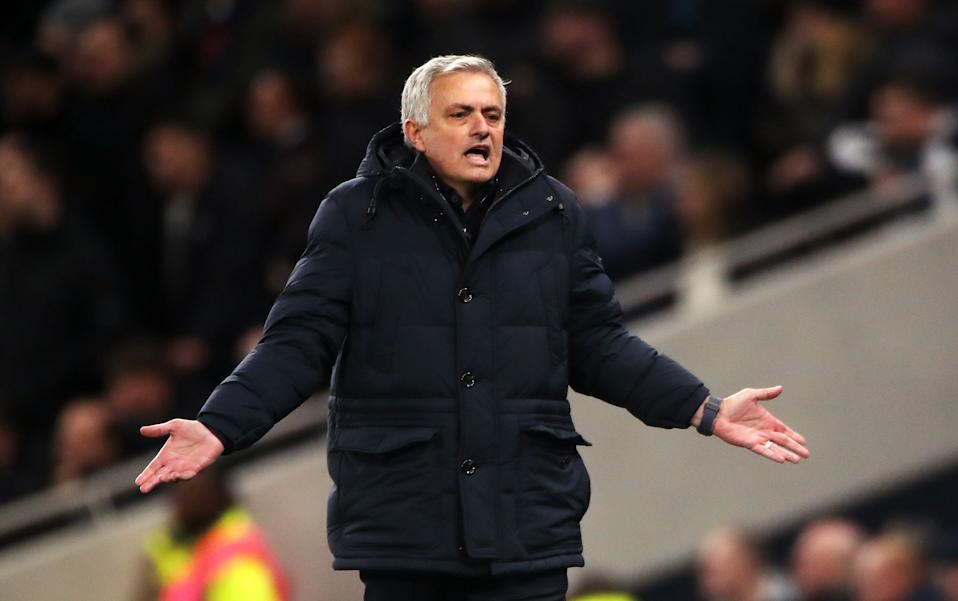 Jose Mourinho and other managers have blasted the Premier League's holiday fixture glut. (Photo by Nick Potts/PA Images via Getty Images)