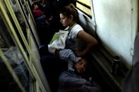 Crammed in a train with people desperate for a better life than they have left behind in Syria, Iraq, Afghanistan and beyond, Alia and Ahmad headed to the Serbian border