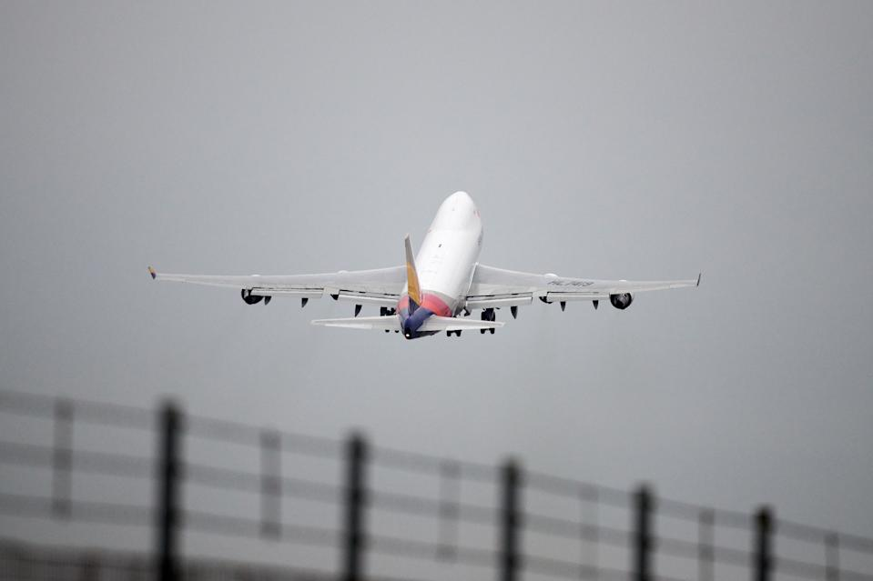 Airlines and travel firms have seen a bump in demand since prime minister Boris Johnson's proposed roadmap out of lockdown was laid out on Monday afternoon. Photo: Gareth Cattermole/Getty Images