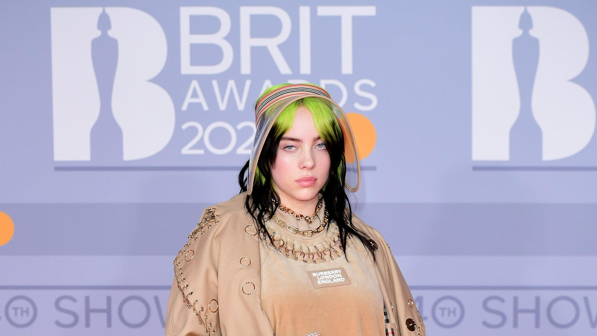 Billie Eilish takes questions from stars including Stormzy and Justin Bieber