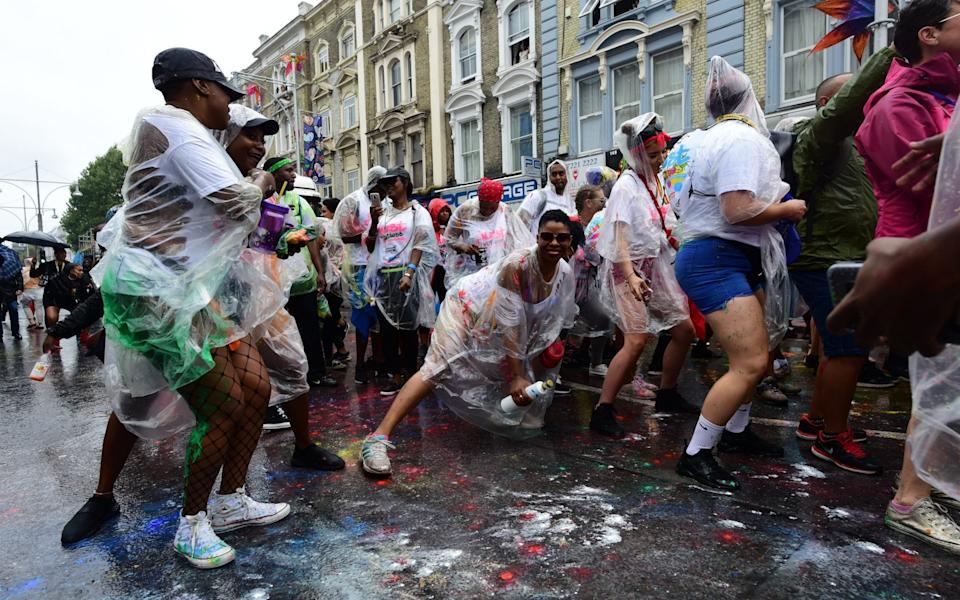 Notting Hill Carnival in 2018 - Geoff Pugh for the Telegraph
