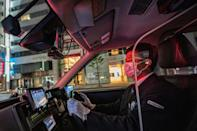 Taking a taxi in the Japanese capital is a luxurious experience