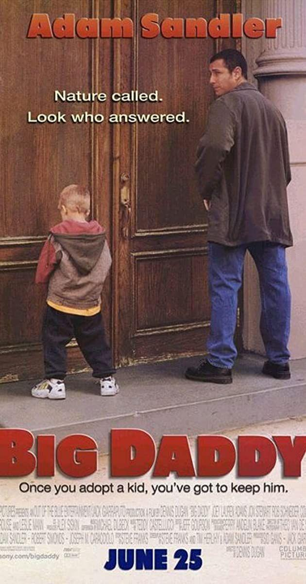 <p>Adam Sandler fans will enjoy this comedic tale that's full of heart, physical comedy, and countless laughs. <em>Big Daddy</em> tells the story of a man whose world changes when he unexpectedly becomes a father figure to a young boy, jointly played by Dylan and Cole Sprouse.</p>