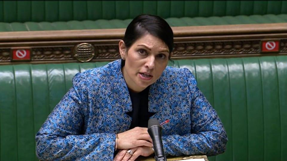 Ms Patel scrapped the April 2023 deadline to submit claims, instead making it indefinite (PA)