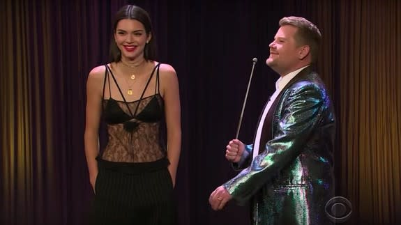 """<img alt=""""""""/><div> <p></p>    </div> <p>It's the quirky little things about our favorite celebrities that make them that much more endearing. James Corden revealed some of these celeb secret talents on a segment of the <em>Late Late Show</em>.</p> <div><p>SEE ALSO: <a rel=""""nofollow"""" href=""""http://mashable.com/2017/02/23/james-corden-britney-spears-biopic/?utm_campaign=Mash-BD-Synd-Yahoo-Watercooler-Full&utm_cid=Mash-BD-Synd-Yahoo-Watercooler-Full"""">James Corden brutally tears apart that Britney Spears biopic</a></p></div> <p>In the video above, Andrew Garfield, Kendall Jenner, Stevie Nicks, and Taylor Lautner showcase their hidden talents. All of their gifts are fantastically pointless, which makes them so much more entertaining.</p> <p>But who knows? Maybe Andrew will go up for a gymnast role, in which case that back handspring will come in handy.</p>"""