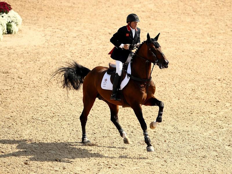 Nick Skelton won two Olympic golds, a World Championship silver medal and four bronzes