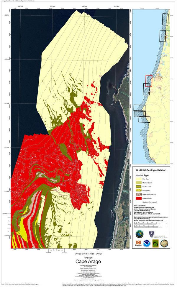 New Maps Unlock Seafloor Secrets Off Oregon Coast