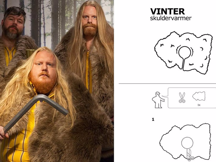 IKEA heard that 'Game of Thrones' uses its rugs for costumes and created instructions for making your own