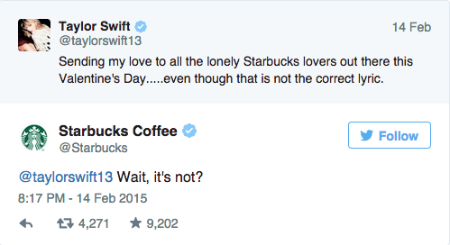 Image result for blank space starbucks lovers