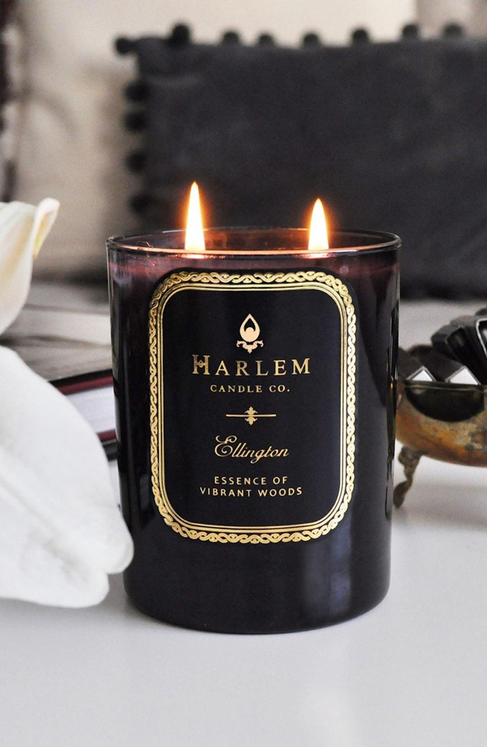 <p>We can't get enough candles during fall, and the <span>Harlem Candle Company Renaissance Ellington Luxury Candle</span> ($45) is next up on our wish list. It's the perfect choice if you like cozy, cinnamon-inspired scents.</p>