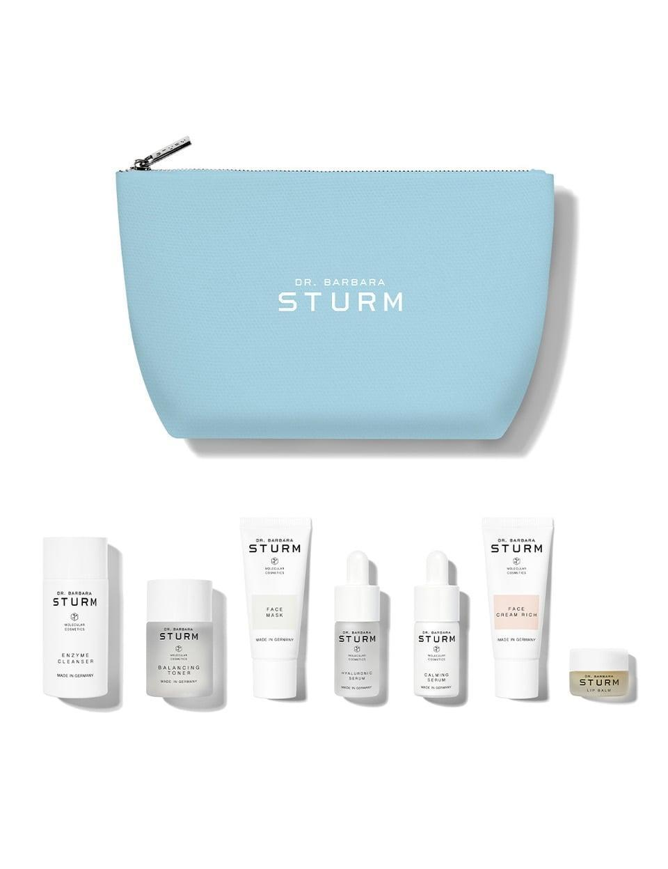"""<p>""""My skin gets hella dry come winter (read: flaking and peeling), which is why this <span>Dr. Barbara Sturm The Winter Kit</span> ($265) is at the top of my wish list. The seven-step kit includes the Enzyme Cleanser, Balancing Toner, Hyaluronic Serum, Calming Serum, Face Cream Rich, Lip Balm and, my personal favorite, the Face Mask. All the products leave my skin super hydrated, give an insane glow and calm my irritation and redness. It's the perfect holiday gift for any skin-care lover."""" - SH</p>"""
