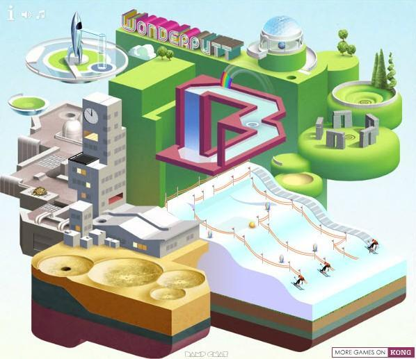 wonderputt game of the day