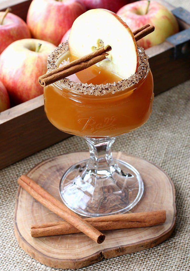 "<p>It's 5 o'clock somewhere.</p><p>Get the recipe from <a href=""http://www.mantitlement.com/recipes/cidertini/"" rel=""nofollow noopener"" target=""_blank"" data-ylk=""slk:Mantitlement"" class=""link rapid-noclick-resp"">Mantitlement</a>.</p>"