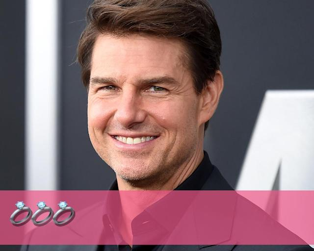 "<p><strong>Engagements:</strong> 3<br><strong>Marriages:</strong> 3<br><strong>Current status:</strong> Single, after <a href=""https://www.yahoo.com/entertainment/tom-cruise-katie-holmes-split-look-back-wild-divorce-5-years-later-195604118.html"" data-ylk=""slk:divorcing Katie Holmes;outcm:mb_qualified_link;_E:mb_qualified_link"" class=""link rapid-noclick-resp newsroom-embed-article"">divorcing Katie Holmes</a> in August 2012.<br>(Photo: Getty Images) </p>"