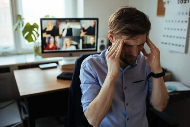 Meeting virtually can be exhausting and stressful. Incorporating some tricks of the acting trade could help you communicate better during those endless Zoom appointments. (Girts Ragelis/Shutterstock - image credit)