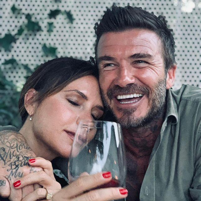 """<p>The soccer legend shared a message to his wife Victoria Beckham on behalf of him and their kids, calling the fashion designer the """"most amazing mummy and the most inspiring wife.""""</p>"""