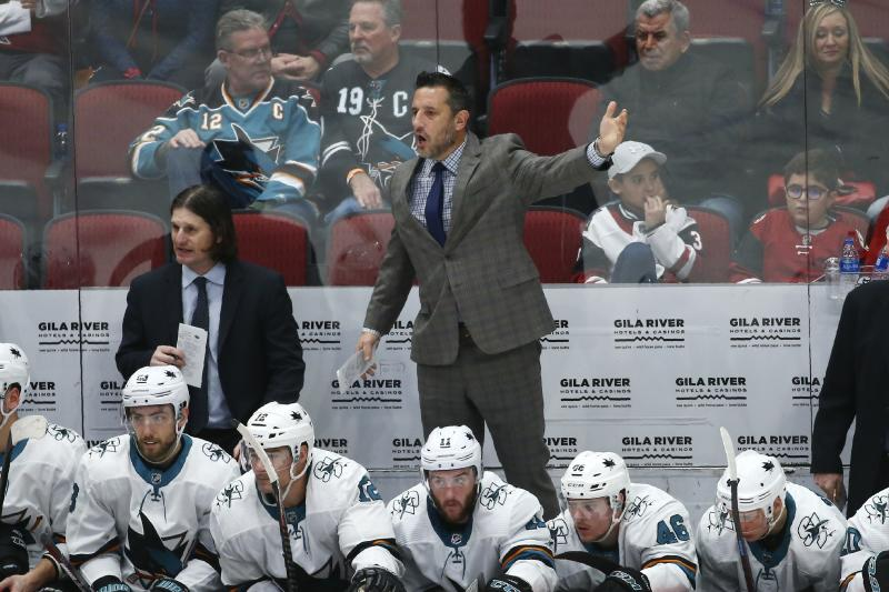 Current NHL coaches by longest tenure with their team