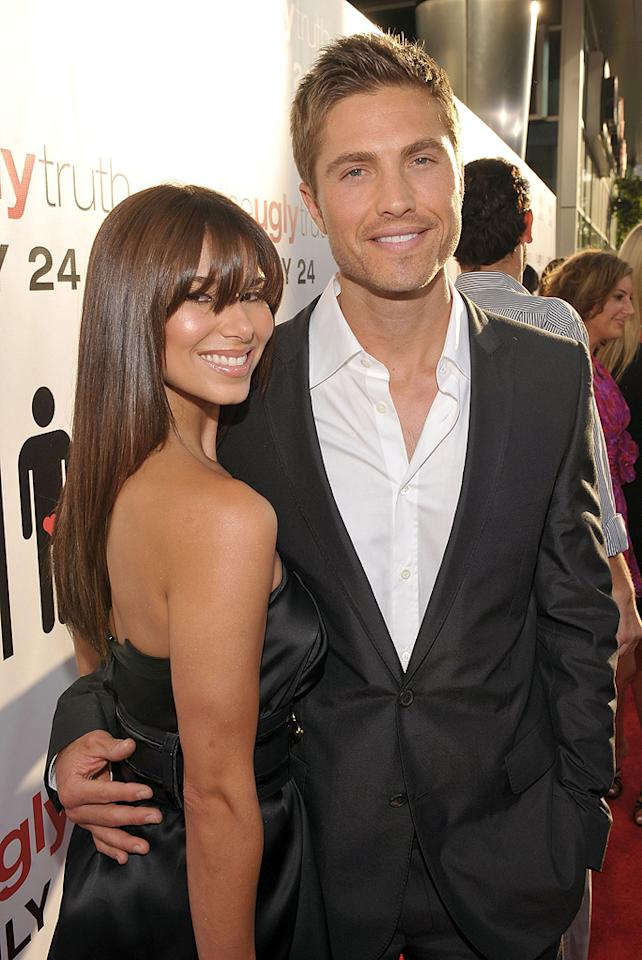 "<a href=""http://movies.yahoo.com/movie/contributor/1809833639"">Eric Winter</a> and <a href=""http://movies.yahoo.com/movie/contributor/1804894604"">Roselyn Sanchez</a> at the Los Angeles premiere of <a href=""http://movies.yahoo.com/movie/1810021980/info"">The Ugly Truth</a> - 07/16/2009"