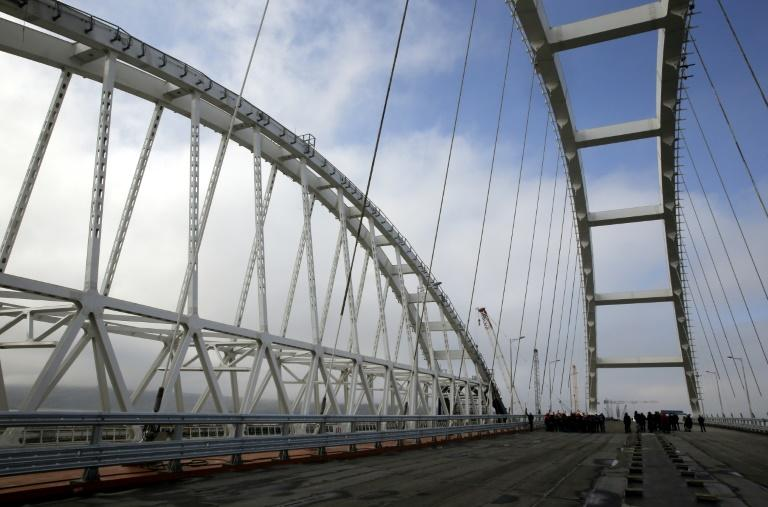 The Crimean Bridge, at 19 kilometres (nearly 12 miles) will be Europe's longest, overtaking Lisbon's Vasco da Gama Bridge