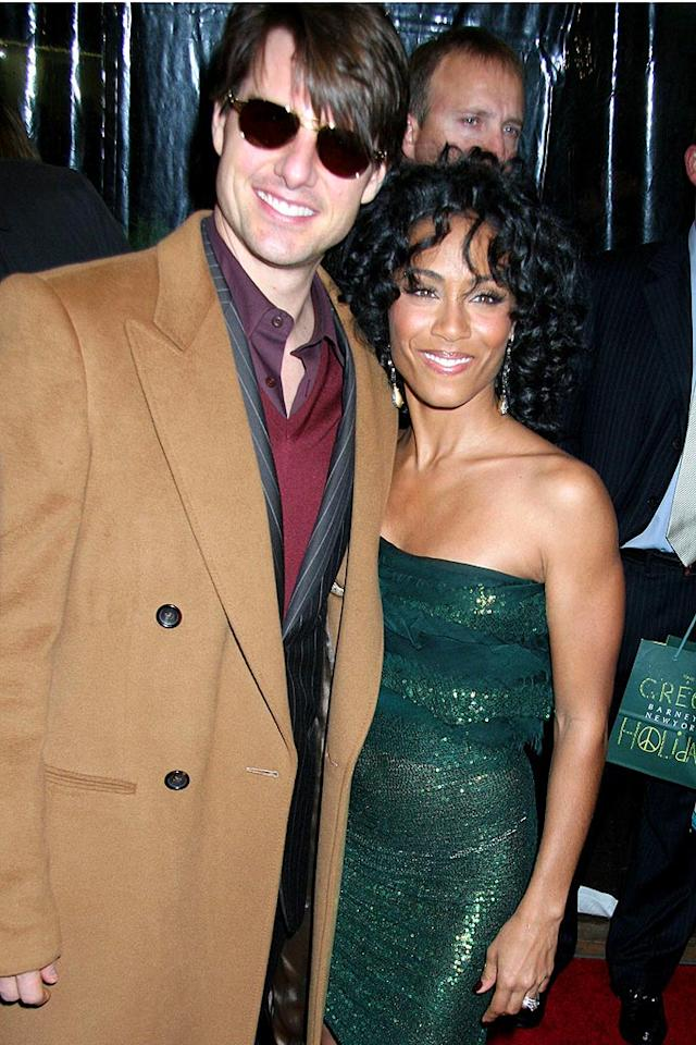 "She may not be a Scientologist (yet!), but that hasn't stopped Tom Cruise from befriending Jada Pinkett Smith. Johns PkI/<a href=""http://www.splashnewsonline.com"" target=""new"">Splash News</a> - December 11, 2007"