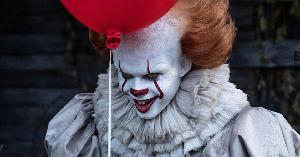 Pennywise is played by Swedish actor Bill Skarsgård (Warner Bros.)