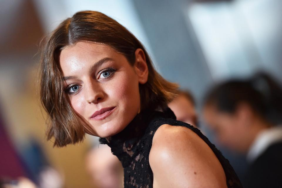 Emma Corrin, at a 2019 premiere in Los Angeles, was nominated in the Best Performance by an Actress in a Television Series (Photo: Axelle/Bauer-Griffin/FilmMagic/Getty Images)