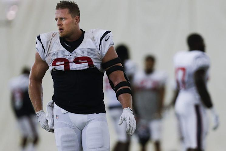 J.J. Watt looks to get the season off on the right foot against the Bears.